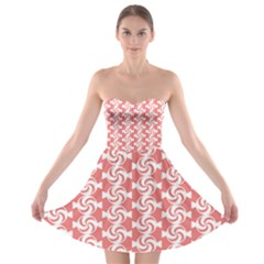Candy Illustration Pattern  Strapless Bra Top Dress