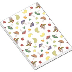 Mushrooms Pattern Large Memo Pads