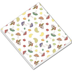 Mushrooms Pattern Small Memo Pads