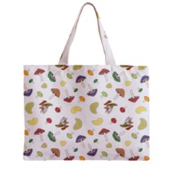 Mushrooms Pattern Zipper Tiny Tote Bags
