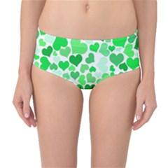 Heart 2014 0913 Mid Waist Bikini Bottoms