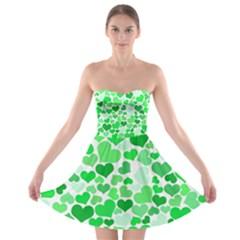 Heart 2014 0913 Strapless Bra Top Dress