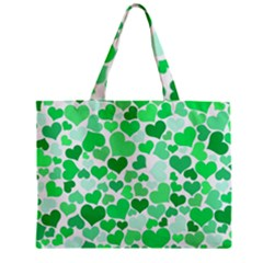 Heart 2014 0914 Zipper Tiny Tote Bags