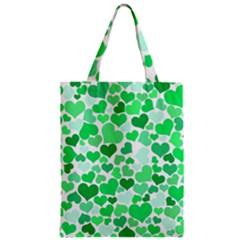 Heart 2014 0914 Zipper Classic Tote Bags