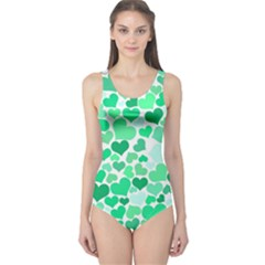 Heart 2014 0915 Women s One Piece Swimsuits