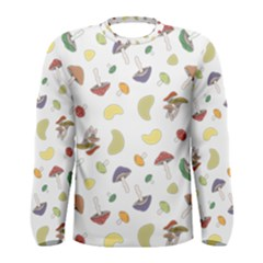 Mushrooms 002b Men s Long Sleeve T-shirts