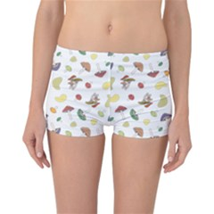 Mushrooms 002b Reversible Boyleg Bikini Bottoms