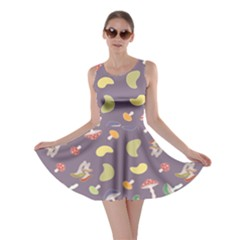 Mushrooms Skater Dresses