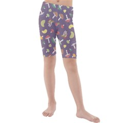 Mushrooms Kid s swimwear