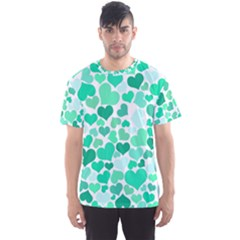 Heart 2014 0916 Men s Sport Mesh Tees