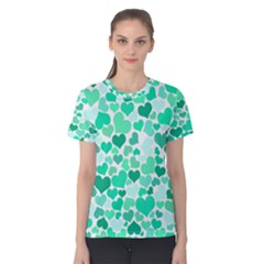 Heart 2014 0916 Women s Cotton Tees