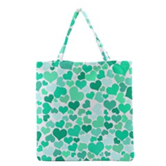 Heart 2014 0916 Grocery Tote Bags