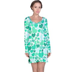 Heart 2014 0916 Long Sleeve Nightdresses