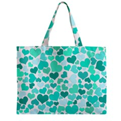 Heart 2014 0917 Zipper Tiny Tote Bags