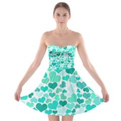 Heart 2014 0917 Strapless Bra Top Dress