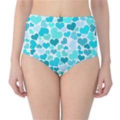 Heart 2014 0918 High-Waist Bikini Bottoms