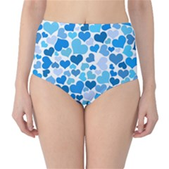 Heart 2014 0920 High-Waist Bikini Bottoms