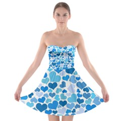 Heart 2014 0920 Strapless Bra Top Dress