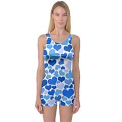 Heart 2014 0921 Women s Boyleg One Piece Swimsuits