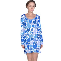 Heart 2014 0921 Long Sleeve Nightdresses