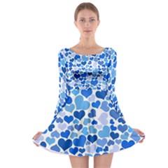 Heart 2014 0921 Long Sleeve Skater Dress