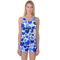 Heart 2014 0922 Women s Boyleg One Piece Swimsuits