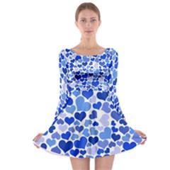 Heart 2014 0922 Long Sleeve Skater Dress