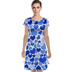 Heart 2014 0922 Cap Sleeve Nightdresses