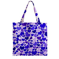 Heart 2014 0925 Zipper Grocery Tote Bags