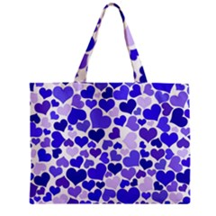 Heart 2014 0925 Zipper Tiny Tote Bags