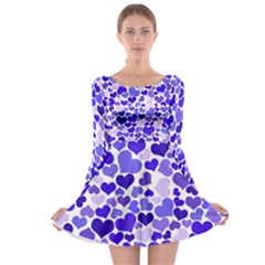 Heart 2014 0925 Long Sleeve Skater Dress