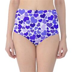 Heart 2014 0925 High Waist Bikini Bottoms