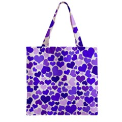 Heart 2014 0926 Zipper Grocery Tote Bags