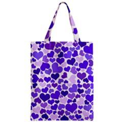 Heart 2014 0926 Zipper Classic Tote Bags