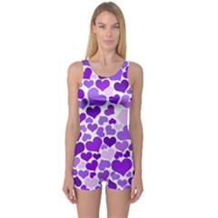 Heart 2014 0927 Women s Boyleg One Piece Swimsuits