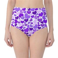Heart 2014 0927 High-Waist Bikini Bottoms