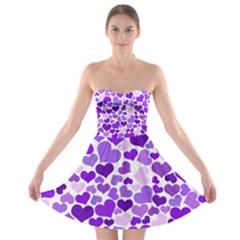 Heart 2014 0927 Strapless Bra Top Dress