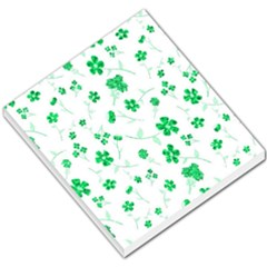 Sweet Shiny Floral Green Small Memo Pads