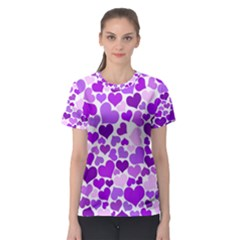 Heart 2014 0928 Women s Sport Mesh Tees
