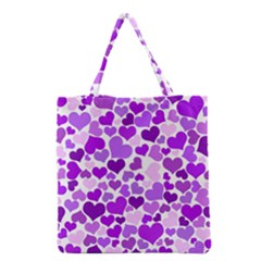 Heart 2014 0928 Grocery Tote Bags