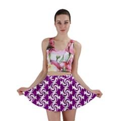 Candy Illustration Pattern Mini Skirts