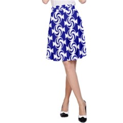 Candy Illustration Pattern A-Line Skirts