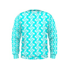 Candy Illustration Pattern Boys  Sweatshirts