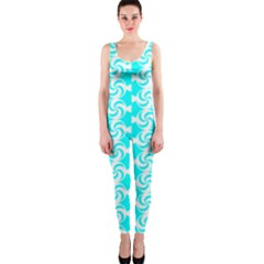 Candy Illustration Pattern OnePiece Catsuits
