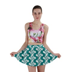 Cute Candy Illustration Pattern For Kids And Kids At Heart Mini Skirts