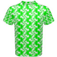 Candy Illustration Pattern Men s Cotton Tees