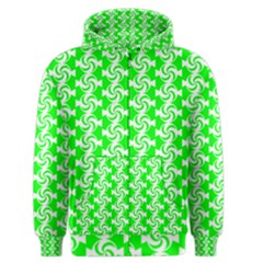 Candy Illustration Pattern Men s Zipper Hoodies