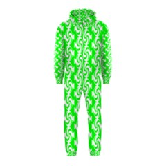 Candy Illustration Pattern Hooded Jumpsuit (Kids)