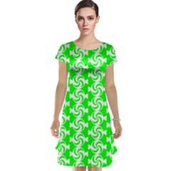 Candy Illustration Pattern Cap Sleeve Nightdresses
