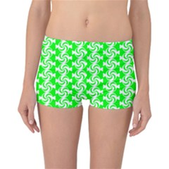 Candy Illustration Pattern Reversible Boyleg Bikini Bottoms